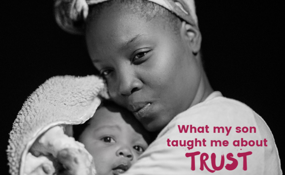 What my son taught me about trust